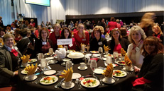 Attendees at annual Susan B Anthony luncheon
