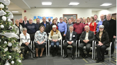 Group photo of event attendees