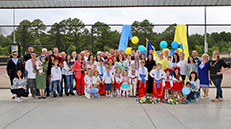 Group of Charlotte Ukrainians on Independence Day