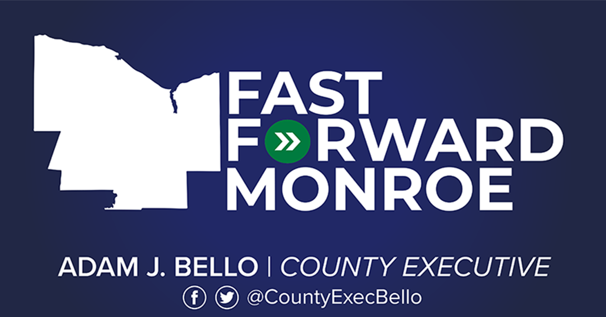 Fast Forward Monroe graphic