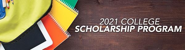 2021 scholarship program banner