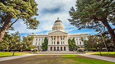 State Capitol In Sacramento
